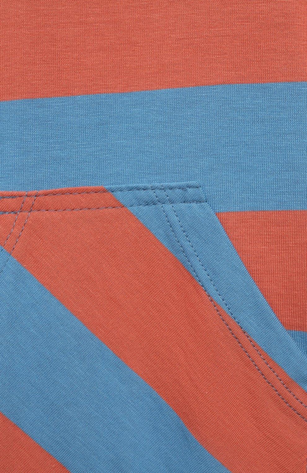 Детский комбинезон SANETTA синего цвета, арт. 221610 | Фото 3