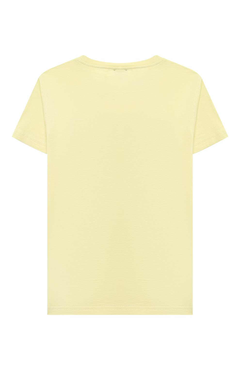 Детская хлопковая футболка IL GUFO желтого цвета, арт. P21TS271M0014/5A-8A | Фото 2