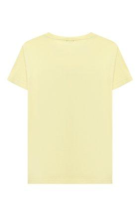 Детский хлопковая футболка IL GUFO желтого цвета, арт. P21TS271M0014/5A-8A | Фото 2