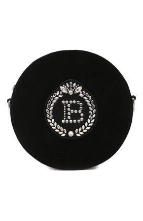 Детская сумка BALMAIN черного цвета, арт. 6O0008 | Фото 1