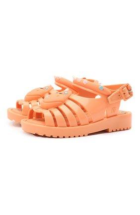 Детские сандалии MELISSA оранжевого цвета, арт. 33238 | Фото 1