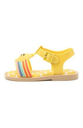 Детские босоножки MELISSA желтого цвета, арт. 33224 | Фото 2