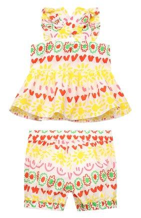Детский комплект из топа и шорт STELLA MCCARTNEY разноцветного цвета, арт. 602573/SQK87/9M | Фото 2