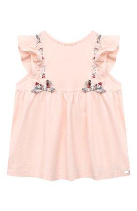 Детский топ TARTINE ET CHOCOLAT розового цвета, арт. TS10011/18M-3A | Фото 1