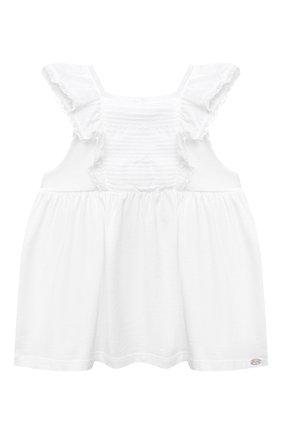 Детский топ TARTINE ET CHOCOLAT белого цвета, арт. TS10021/18M-3A | Фото 1