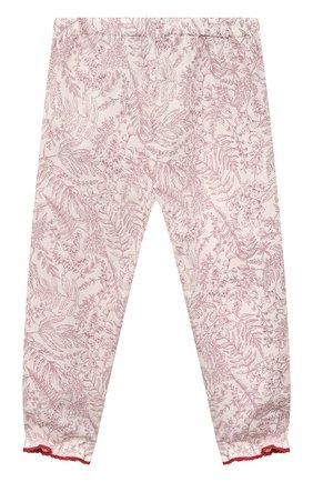 Детские хлопковые брюки TARTINE ET CHOCOLAT красного цвета, арт. TS22041/2A-3A   Фото 2