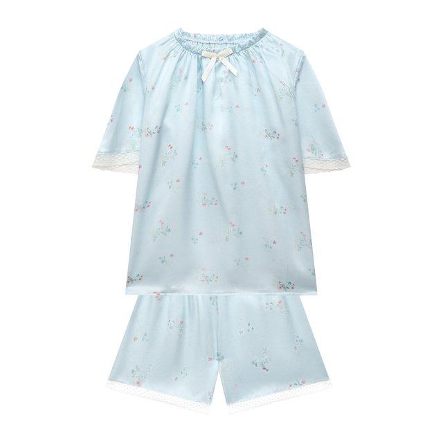 Шелковая пижама Amiki Children