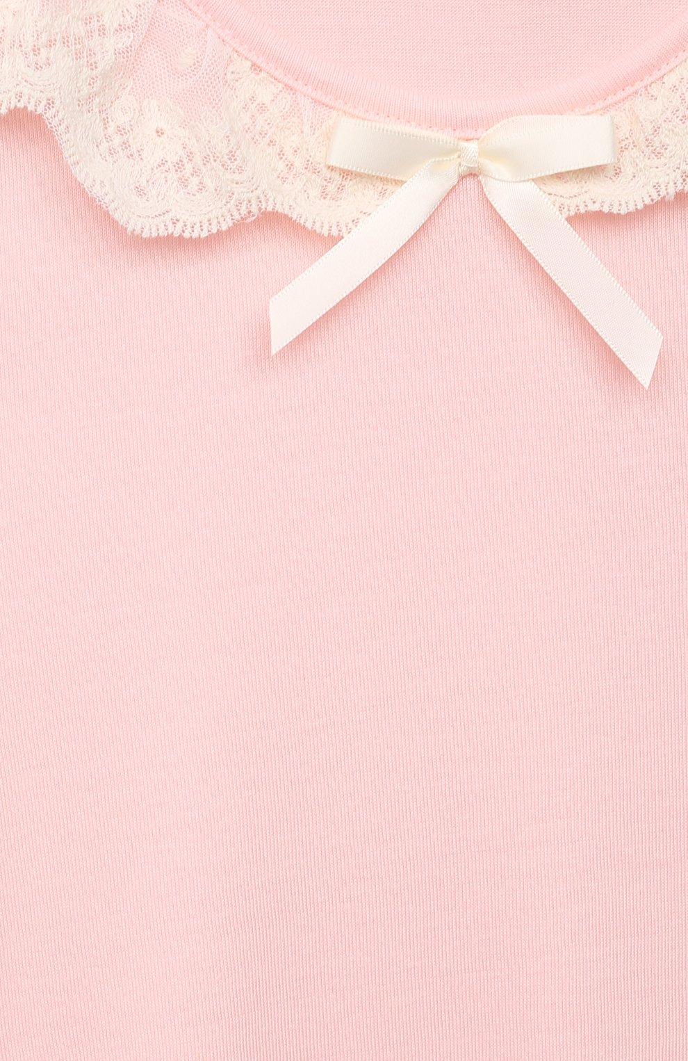 Детская сорочка AMIKI CHILDREN розового цвета, арт. SABRINA | Фото 3