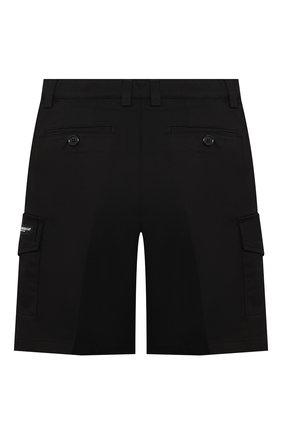 Детские хлопковые шорты DOLCE & GABBANA черного цвета, арт. L42Q82/FUFJR/2-6 | Фото 2