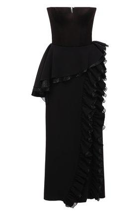 Женское платье ULYANA SERGEENKO черного цвета, арт. ABM003FW21NY(2076т20) | Фото 1