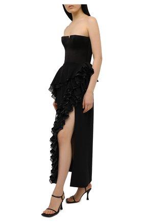 Женское платье ULYANA SERGEENKO черного цвета, арт. ABM003FW21NY(2076т20) | Фото 2