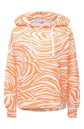 Женская хлопковое худи EVA B.BITZER оранжевого цвета, арт. 11323336 | Фото 1
