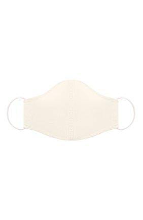 Мужская маска для лица TOM FORD белого цвета, арт. MA0001-FAX813 | Фото 1 (Материал: Текстиль, Вискоза, Синтетический материал; Мужское Кросс-КТ: Маска)