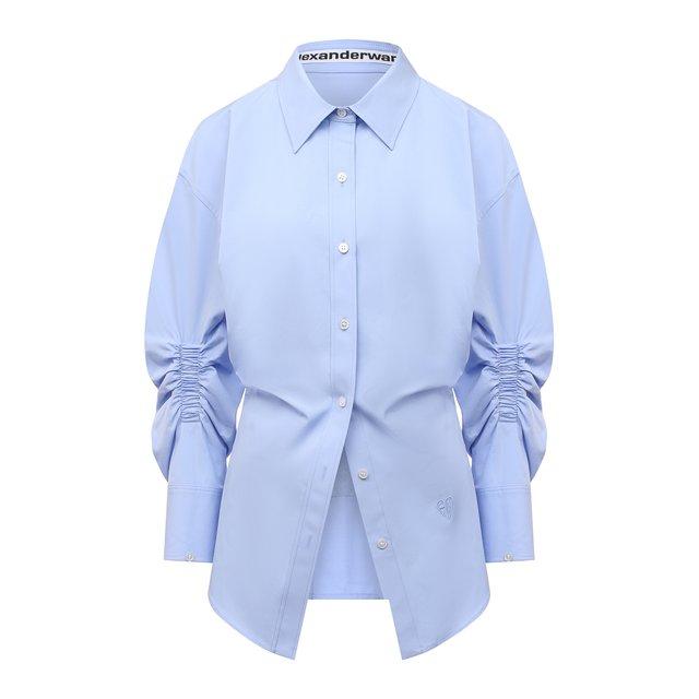 Хлопковая рубашка Alexander Wang