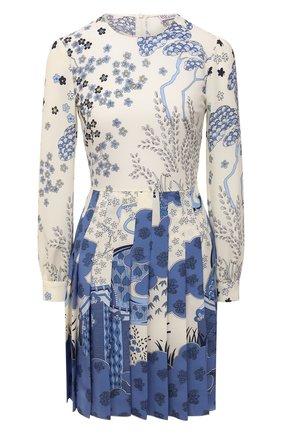 Женское платье REDVALENTINO голубого цвета, арт. VR3VAW80/5S0   Фото 1