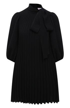 Женское платье REDVALENTINO черного цвета, арт. VR3VAW40/4RA | Фото 1