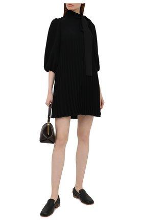 Женское платье REDVALENTINO черного цвета, арт. VR3VAW40/4RA | Фото 2