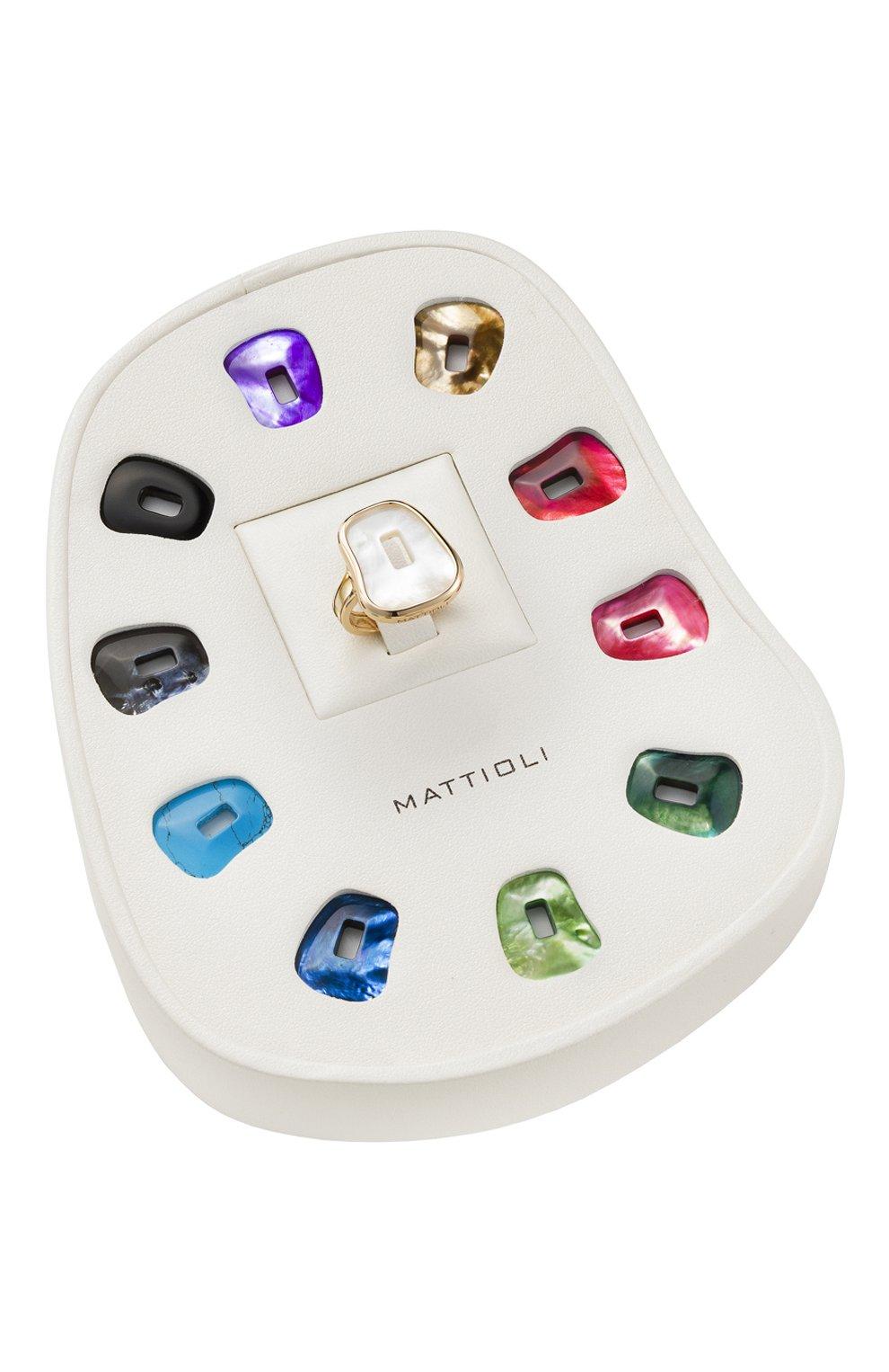 Женские кольцо MATTIOLI бесцветного цвета, арт. MKIT054R013 | Фото 2