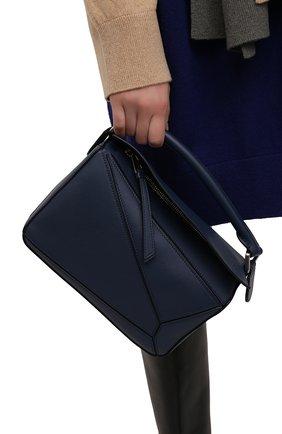 Женская сумка puzzle LOEWE синего цвета, арт. 322.30.S21 | Фото 2