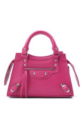 Женская сумка neo classic mini BALENCIAGA розового цвета, арт. 638524/15Y4Y | Фото 1
