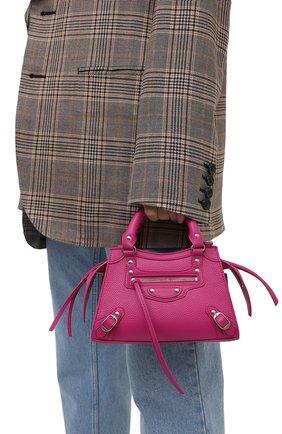 Женская сумка neo classic mini BALENCIAGA розового цвета, арт. 638524/15Y4Y | Фото 2