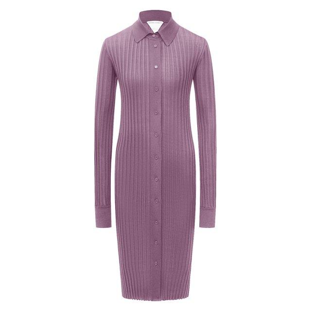 Шелковое платье Bottega Veneta