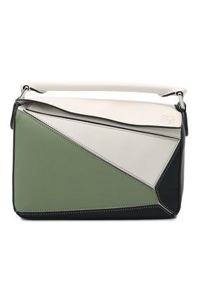 Женская сумка puzzle small LOEWE разноцветного цвета, арт. A510S21X55   Фото 1