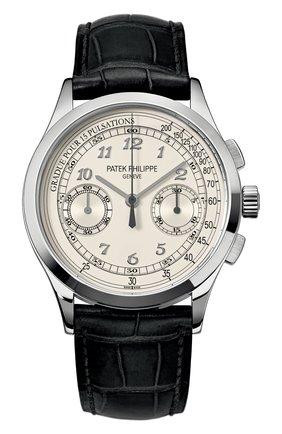 Мужские часы chronograph PATEK PHILIPPE бесцветного цвета, арт. 5170 G-001 | Фото 1