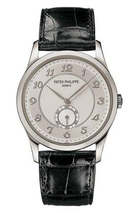 Мужские часы PATEK PHILIPPE серебряного цвета, арт. 5196 P-001 | Фото 1