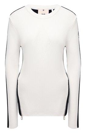 Женский пуловер из вискозы FUSALP белого цвета, арт. Y1132 | Фото 1