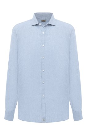 Мужская льняная рубашка SONRISA голубого цвета, арт. IL7/CD4125/47-51   Фото 1