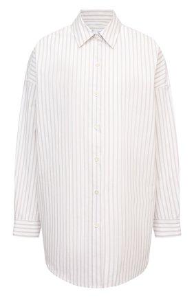 Женская хлопковая рубашка IRO кремвого цвета, арт. WP18BEAUTY | Фото 1