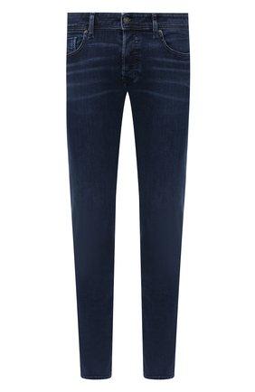 Мужские джинсы DIESEL темно-синего цвета, арт. 00SWJF/009QI | Фото 1