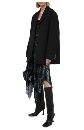 Женская юбка GIVENCHY темно-синего цвета, арт. BW40GG1Z27   Фото 2