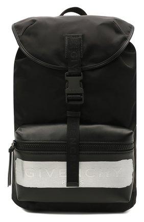 Мужской текстильный рюкзак light3 GIVENCHY черного цвета, арт. BK5045K11K   Фото 1
