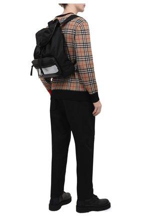 Мужской текстильный рюкзак light3 GIVENCHY черного цвета, арт. BK5045K11K   Фото 2