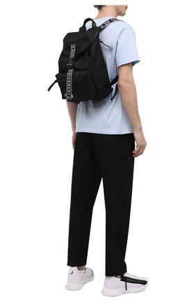 Мужской текстильный рюкзак light3 GIVENCHY черного цвета, арт. BK500MK128 | Фото 2