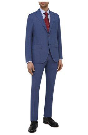 Мужская хлопковая сорочка ETON голубого цвета, арт. 1000 01867 | Фото 2