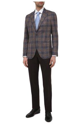 Мужские кожаные лоферы MAGNANNI черного цвета, арт. 23802/B0LTIARCADE | Фото 2 (Материал внутренний: Натуральная кожа; Мужское Кросс-КТ: Лоферы-обувь; Стили: Классический)