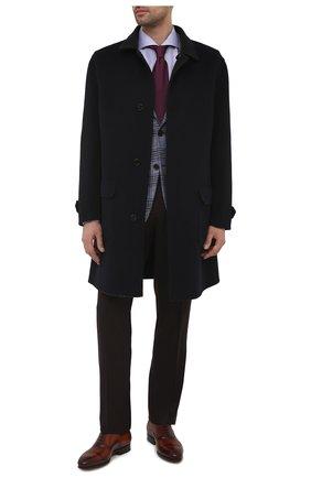 Мужские кожаные оксфорды MAGNANNI коричневого цвета, арт. 23803/WIND | Фото 2