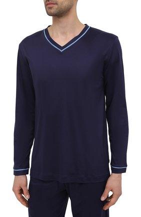 Мужская пижама ZIMMERLI темно-синего цвета, арт. 188-96071 | Фото 2