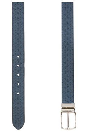 Мужской замшевый ремень PAUL&SHARK синего цвета, арт. 21416035/HM3 | Фото 2
