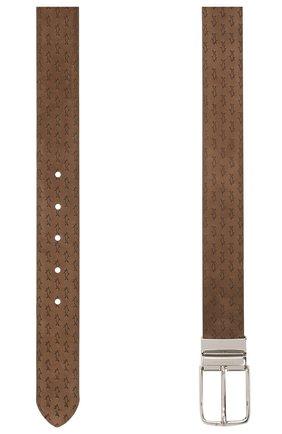 Мужской замшевый ремень PAUL&SHARK коричневого цвета, арт. 21416035/HM3 | Фото 2