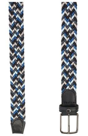 Мужской комбинированный ремень PAUL&SHARK темно-синего цвета, арт. 21416033/GWH | Фото 2