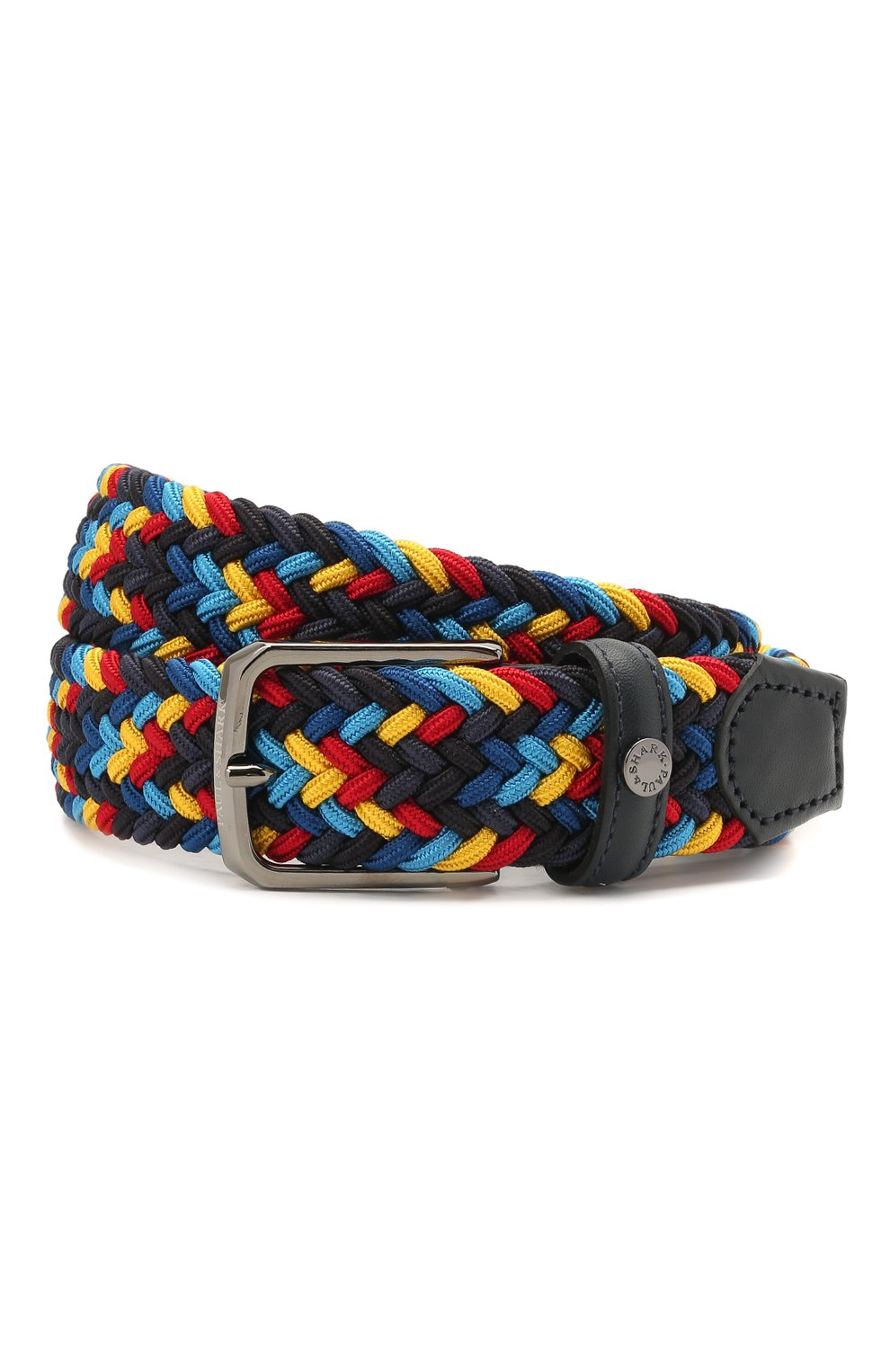Мужской комбинированный ремень PAUL&SHARK разноцветного цвета, арт. 21416033/GWH | Фото 1