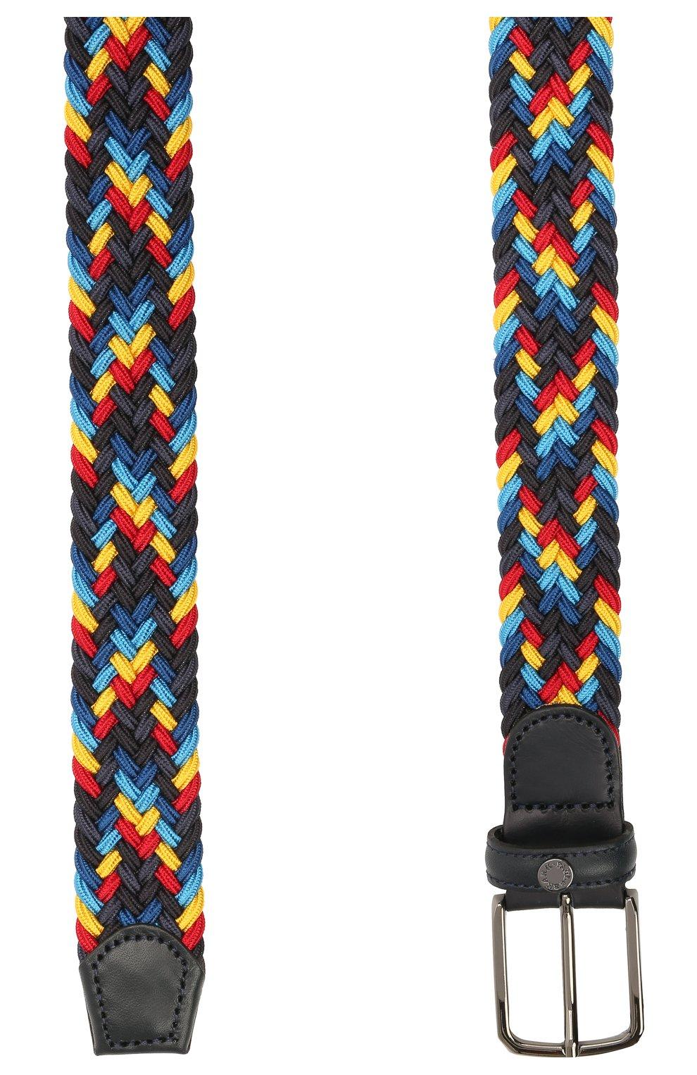 Мужской комбинированный ремень PAUL&SHARK разноцветного цвета, арт. 21416033/GWH | Фото 2