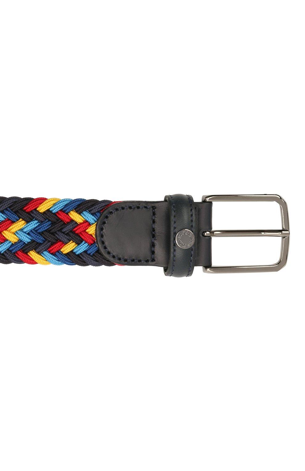 Мужской комбинированный ремень PAUL&SHARK разноцветного цвета, арт. 21416033/GWH | Фото 3