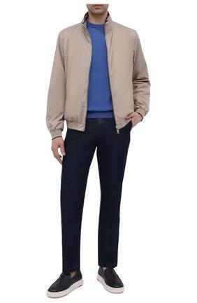 Мужские джинсы PAUL&SHARK темно-синего цвета, арт. 21414202R/FIW | Фото 2
