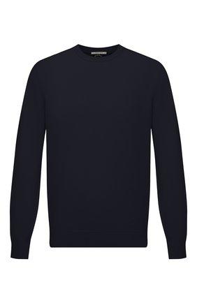 Мужской хлопковый свитер PAUL&SHARK темно-синего цвета, арт. 21411550/C00 | Фото 1