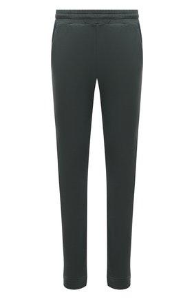 Мужские хлопковые брюки Z ZEGNA зеленого цвета, арт. VW429/ZZP55 | Фото 1